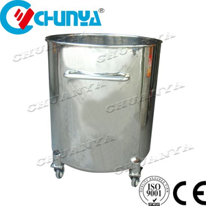 Stainless Steel Polished Water Storage Liquid Movable Tank