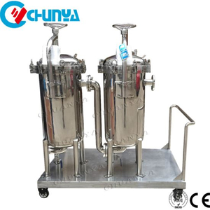 Stainless Steel Duplex Bag Filter for Chemical and Oil Filtration