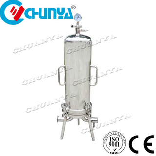 China Manufacturer Stainless Steel Pressure Water Cartridge Filter Housing