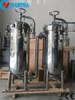 Multi Stage Stainless Steel Duplex Bag Filter for Water Treatment