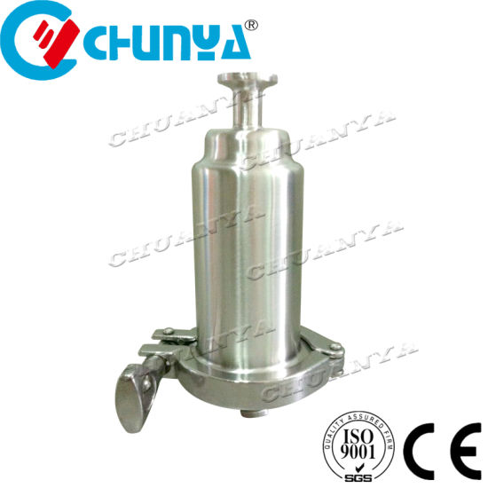 Industrial Valve Sanitary Y-Type Stainless Steel 304 Tube Water Filter Housing for Oil