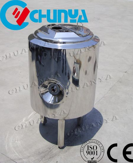 Stainless Steel Milk Cooling Storage Tank