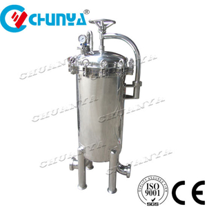High Flow Rate Stainless Steel Water Purifier Filter Housing