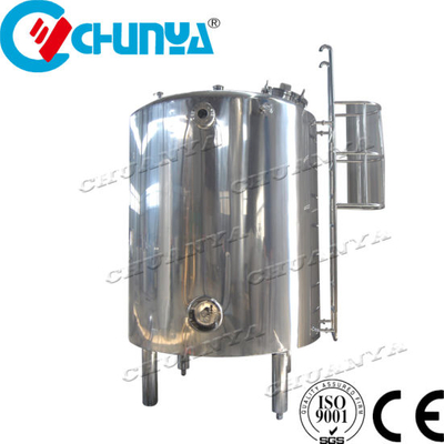 China Steam Electric Heating and Cooling Double Jacketed Stainless Steel Mixing Tank