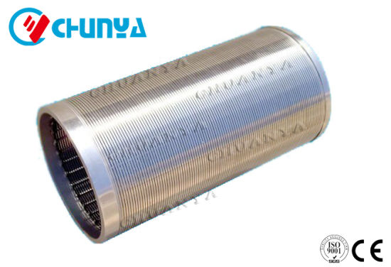 China Industrial Manufacturers Stainless Steel SS316 Water Filtration Tube Filter Housing