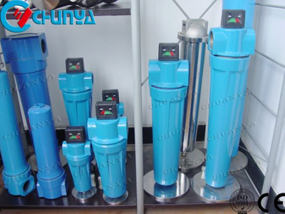China Industrial Manufacturer Precision Compressed Air Filter Housing