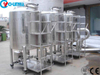 500L Stainless Steel Water Storage Liquid Movable Tank