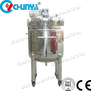 Stainless Steel Pressure Tank Steam Heating Reactor for Chemical