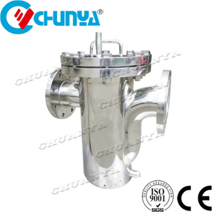 Stainless Steel Basket Filter Housing for Milk and Juice