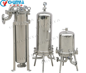 SS316 Cartridge Filter Housing for Water Filtration