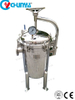 RO System Stainless Steel Water Filtration Multi Bag Filter Housing