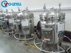 Stainless Steel Food Pressure Mixing Tanks