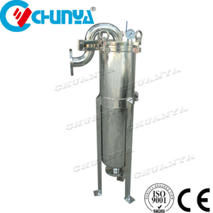 Single Bag Filter Housing for Water And Beer Brewing Equipment